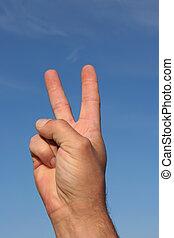 paz, señal