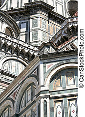 Duomo Santa Maria del Fiore - Florence - Detail of the...