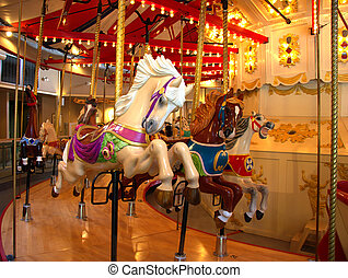 Merry go round - ride at local carousel