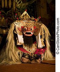 Barong mask 2 - Balinese dance