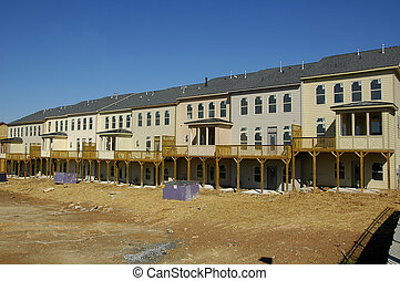 New Construction - New townhome development under...