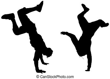 dance - isolated dancers(great for your design and art work)