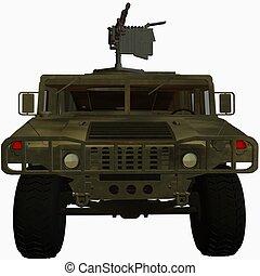 Hummer - 3D Render