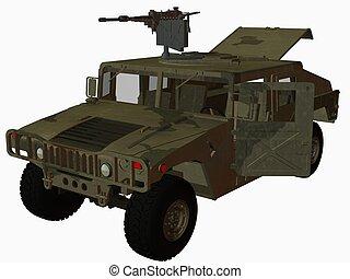 Hummer-Nato - 3D Render