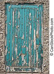 peeling paint - Door to an industrial unit needing a coat of...