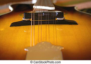 Mandolin Sunburst - Ibanez A-Style Mandolin
