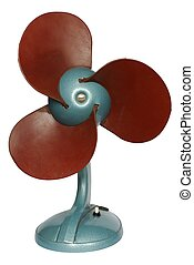 Fan - Isolated old fan