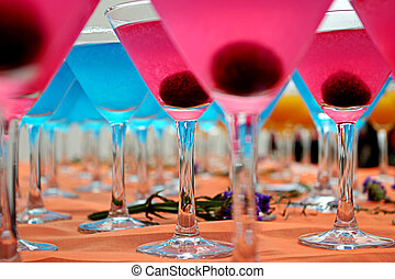 Blue & Pink CocktailsBlue & Pink Cocktails - Blue and Pink...