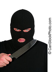 Robber - Criminal series 2 - the robber with a knife