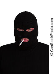 Smoking conman - Criminal series 4 - conman smoking a...