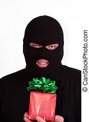 Christmas burglar - Criminal series 9 - masked bandit...