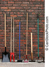 Hardware Tools - Selection of hardware and gardening tools...