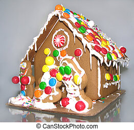 gingerbread house - chritmas gingerbread house