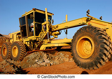 Tire Construction - Heavy construction equipment