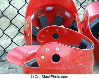 Helmets - Batting helmets for baseball players