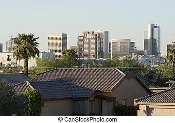 Phoenix, centro cidade