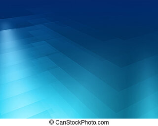Blue spectrum background