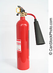 Fire Extinguisher CO - Carbon Dioxide Fire Extinguisher