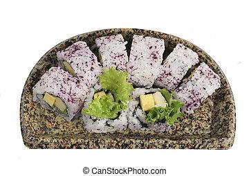 Japanese vegtables rolls - Japanese vegetables rolls...