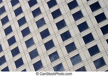 Corporate building facade - Close up of a modern corporate...
