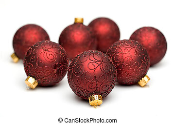 Christmas Tree Ornaments III - Seven Christmas Tree...