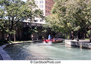 Riverwalk in San Antonio, Texas - The Riverwalk in San...