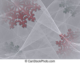 Snowflake Background 2 -...