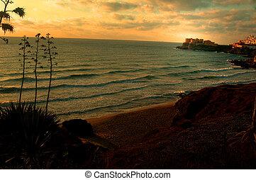 Landscape - spannish seascape
