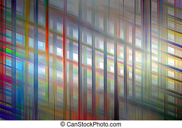 Thread abstract - Abstract background design of weft and...