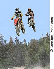 airborne riders - taken at massey moto cross