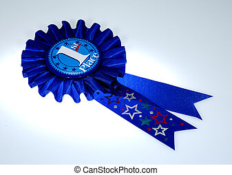 Award Ribbon - Photo of a 1st Place Award Ribbon
