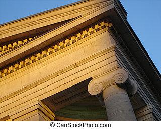 Court House Sunset - Dayton, Ohio historic courth house...