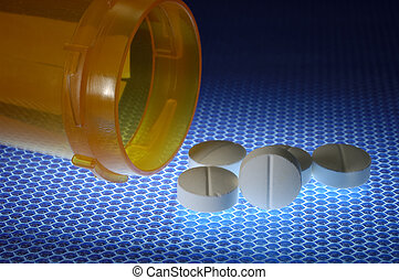 Medicine - Photo of Pills and a Pill Bottle - Medical...