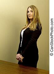 female executive business - female executive tall happy...