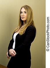 female executive business