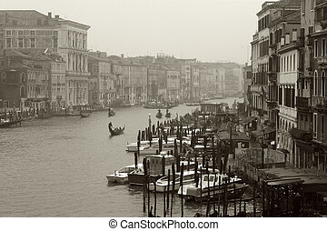 Dreary day in Venice - Venice on a dreary, rainy morning...