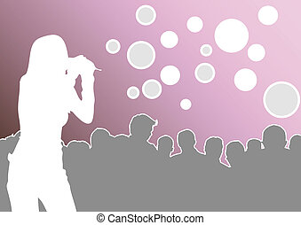 on the concert - made from my images