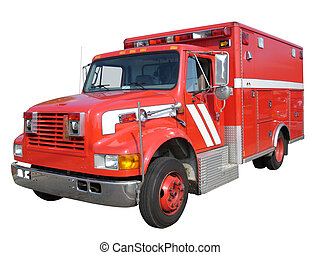 EMS Fire Truck - EMS fire truck vehicle
