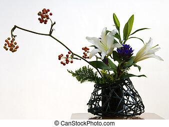 Ikebana III - An example of Ikebana, the Japanese art of...