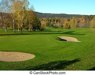 Golf - Bogstad golf course in oslo