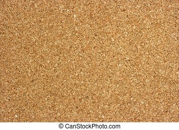 Corkwood - Cork texture of an empty pinboard