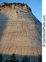 Checkerboard Mesa at Zion Canyon