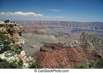 canyon, négliger, Grandiose
