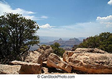 canyon, négliger, rocheux, Grandiose