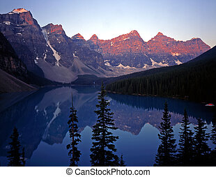 MoraineLake#3 - Moraine Lake in Banff National Park located...