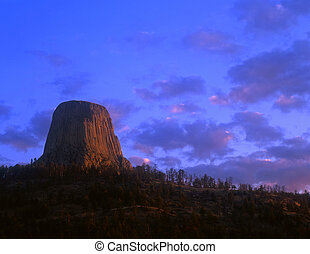 DevilsTower#10 - Devils Tower National Monument, located in...