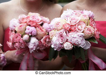 wedding bouquet of flowers - Bridal wedding bouquets of...
