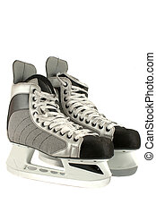 ice skates - pair of men\\\'s winter ice hockey skates