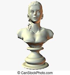 Bust - 3D Render
