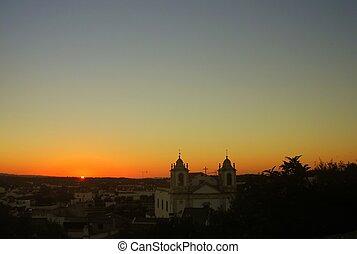 Church (sunset)